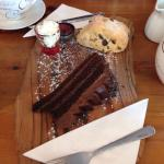 Cream Tea and Chocolate Cake