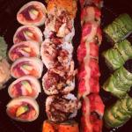 Create your own sushi platters!