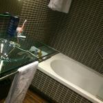 Baño de habitación normal