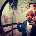 dino in the bathroom!