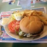Mexicana burger!! Amazing !