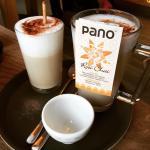 Chai Latte und heiße Schokolade