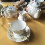 Beautiful dainty tea set