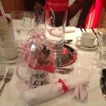 Valentines table decor & gift for the lady