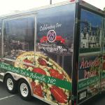 Special Events Trailer cooking NY Style Pizzas!