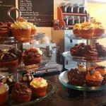 A selection of our delicious cupcakes