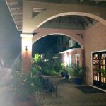 Entrance/Walkway to Hotel