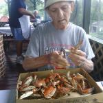 Great auce marryland crabs during the summer.