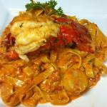 """Lobster in Pink sauce. so decadent, we call it our """"KIng of the Sea"""""""
