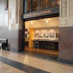 Parisi Cafe inside Union Station