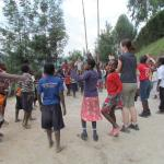 recess at the little angels school