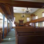 Interior on tabernacle