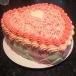 Our Valentine cake