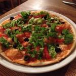 vegetable pizza :-)