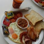 Full English breakfast & juice