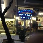 İn a very good part of Athens