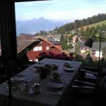 The breakfast view
