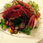 Lobster and Chicken Rockefellar