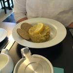 Oat cakes and kedgeree