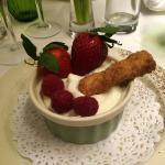 White Chocolate and raspberry pot! Pure heaven! �� Valentine gala night ❤️