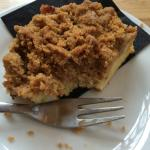 Really lovely crumble cake €4.50