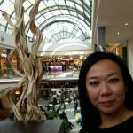 La bellissima e luminosa galleria del centro commerciale