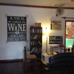 Book exchange area