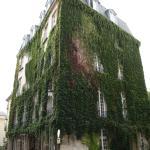 Auberge de jeunesse MIJE Fauconnier Paris - facade