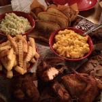 Great BBQ, huge portions and great prices.