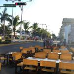 Curbside service for our 2015 Cozumel Carnaval Parades