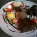 Chocolate sharing platter