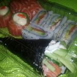 Sushi home delivery...