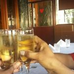 free flowing champagne...  Cheers!!