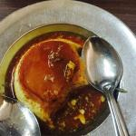 Caramel pudding @ cafe Goodluck. Not to be missed treat.