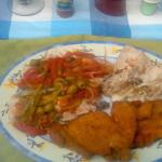 Bonita Fish cooked by owner Luis' wife   3 different ways