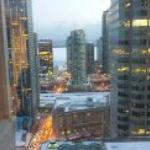 Night view 28th floor 1 King St. West