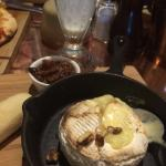 Baked Camembert with ciabatta