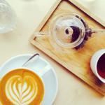 Talkhouse tea and coffee.