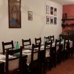 Salle intérieure  des oetits dejeuners et repas