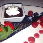Dessert on valentine