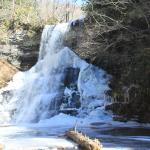 Semi-frozen falls