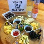 Tastings at a Wellington favourite