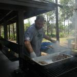 Grilling at Shelter 1