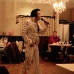 A Ray Of Elvis show on Valentine's Day 2015.