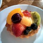 Mixed fruit tartlett