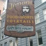 Sign outside of establishment