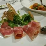 Trio of various Colettes and Hammos appetizer