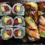 Tuna & avocado roll, infinity roll