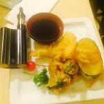 Excellent shrimp tempura