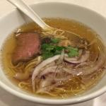 French consumé broth ramen IPPUDO - good but small portion. Not fantastic.